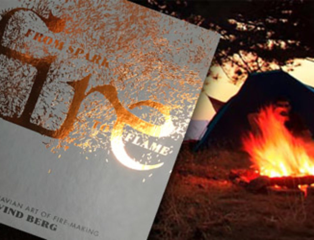 Bålet i engelsk utgave: «Fire – from Spark to Flame»